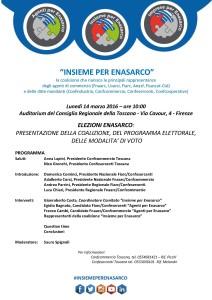 INSIEME PER ENASARCO - INVITO-LOCANDINA Firenze 14 marzo