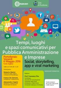 Workshop 6 maggio Portoferraio