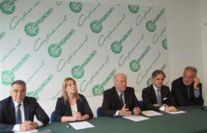 conferenza stampa Nuova Banca Etruria