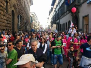 Manifestazione contro inceneritore Firenze