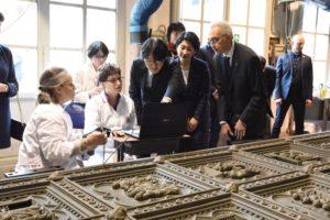 Arte: principe Giappone visita restauri 'Opificio' Firenze