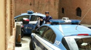 Polizia volanti Siena