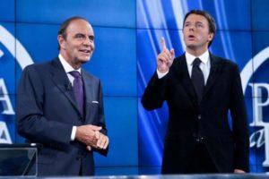 Matteo Renzi e Bruno Vespa