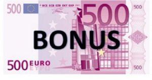 bonus 500€