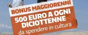 Bonus Maggiorenni_Cultura