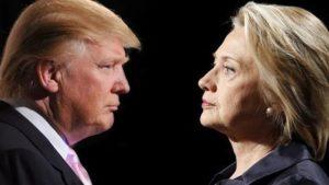 Donal Trump e Hillary Clinton