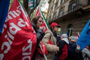 manifestazione lavoratori