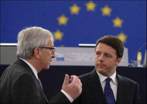 Renzi e Juncker