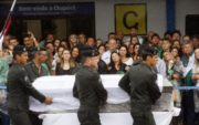 Funeral for the members of Chapecoense dead in plane crash